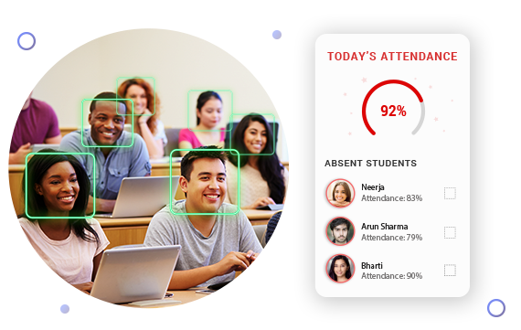 AI-powered attendance management system